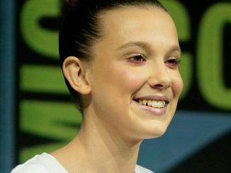Millie Bobby Brown at Comic Con